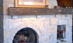 28 Awesome Reclaimed Wood Fireplace Mantel