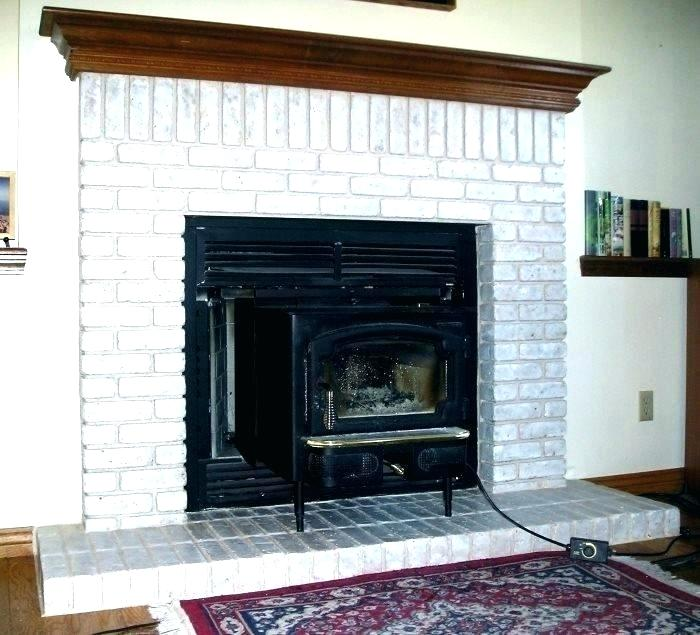 red brick fireplace makeover ideas uk gray painting before stone