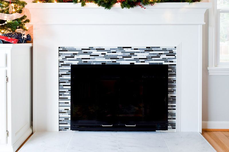 1 handyman daughter fireplace marble glass tiile 59f abed efda70