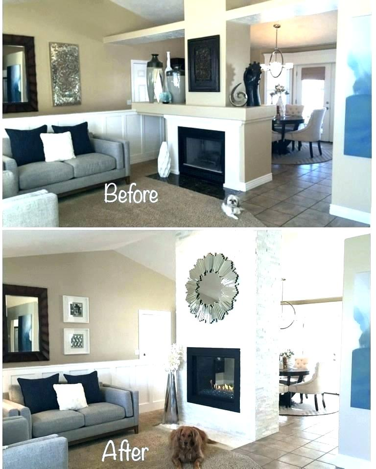 reface brick fireplace with stone covering veneer cover above od panels paint how to update a burning