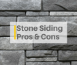 Refacing A Brick Fireplace with Stone Veneer Elegant Stone Siding and Stone Veneer Siding Pros and Cons