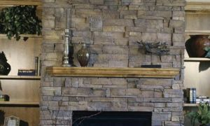 16 Beautiful Refacing Fireplace with Stone Veneer