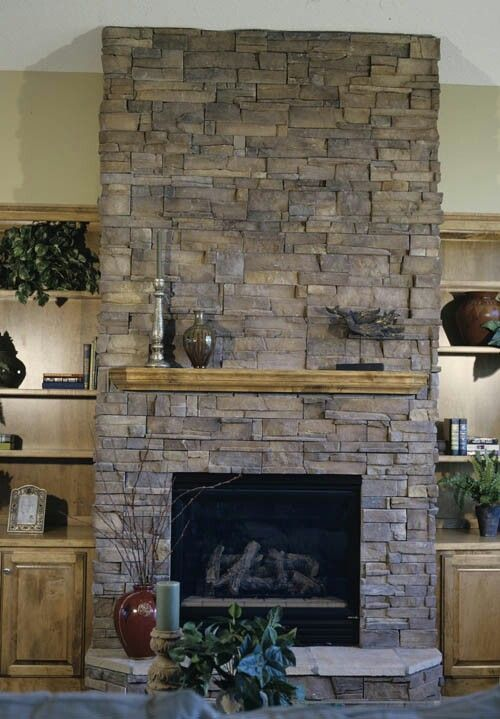 Refacing Fireplace with Stone Veneer Inspirational Pin by M C On Cave