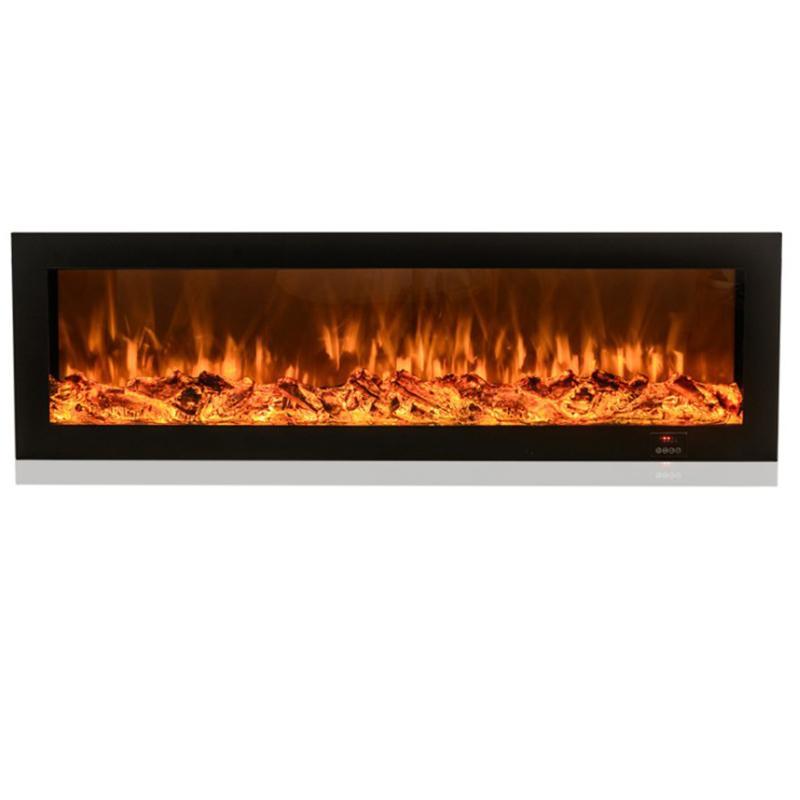 220v decorative flame smart app 3d brightness