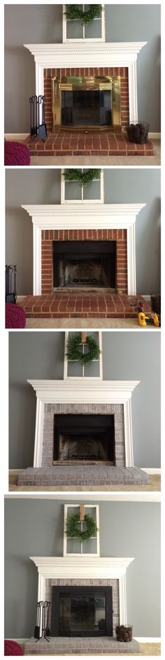 5f2b5adc73ef804b8482c5ac5620d73f brass fireplace makeover fireplace makeovers