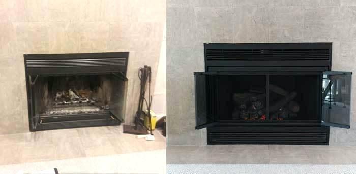 wood burning fireplace doors diamond fireplace door wood burning stove door replacement