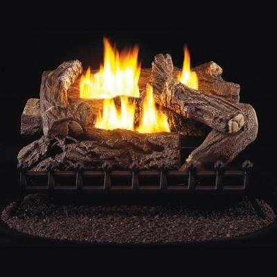 pro ventless gas fireplace logs wzl30mva 64 400 pressed