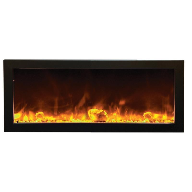 pre made outdoor fireplace fresh amantii panorama bi 40 slim od built in outdoor electric fireplace of pre made outdoor fireplace