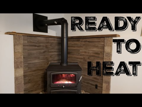 Retrofit Fireplace Fresh Videos Matching Wood Stove Install Stove Pipe and First