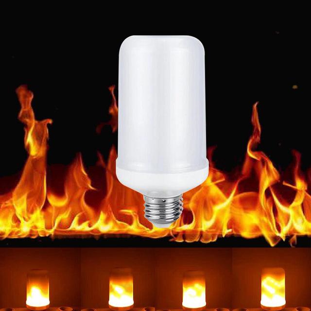 2018 neue E27 E26 2835SMD led lampe Flammeneffekt Feuer Gl hbirnen 7 Watt Flackern Emulation flamme 640x640