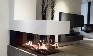 16 Luxury Room Divider Fireplace
