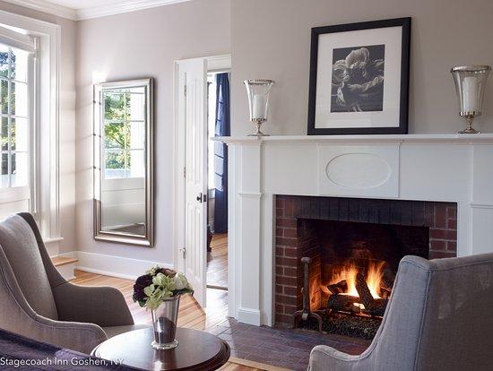 margo bedroom fireplace