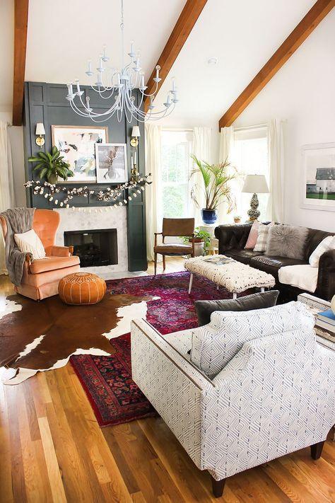 0ddeaa18a16d5af d2600be8b1 fall living room rustic living rooms