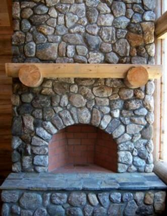 Rumford Fireplace Design Inspirational Rumford Fireplace Conversion with Natural Stone Veneer now