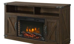 13 Luxury Rustic Electric Fireplace Entertainment Center