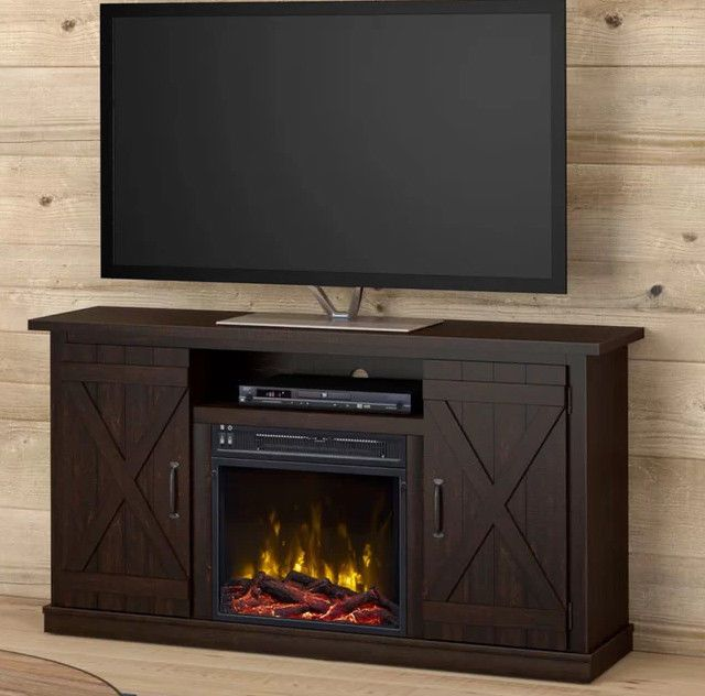 Rustic Fireplace Tv Stand Best Of Rustic Fireplace Tv Stand Storage Led Insert Media Console