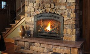 27 Beautiful Rustic Gas Fireplace