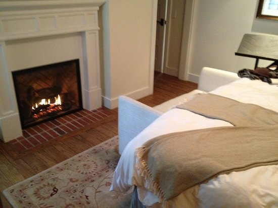 Santa Barbara Fireplace Beautiful Fire Love Seat and Draped Shawl I Apologize for Not