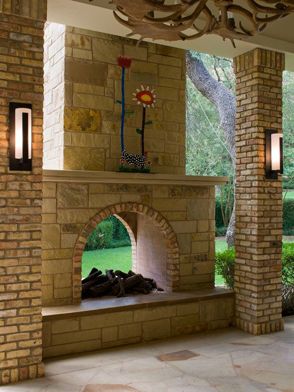 See Through Outdoor Fireplace New 2 Sided Outdoor Fireplace Google Search