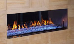 27 New See Through Ventless Fireplace