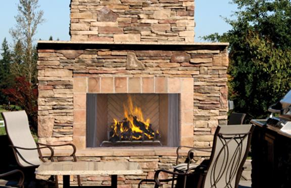 Astria Oracle Wood Burning Fireplace