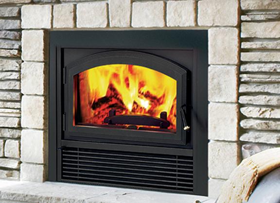 Brentwood Wood Burning Fireplace
