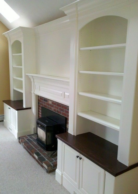 Shelves Next to Fireplace Best Of Fireplace Built In I Have This In My House Love the Dark
