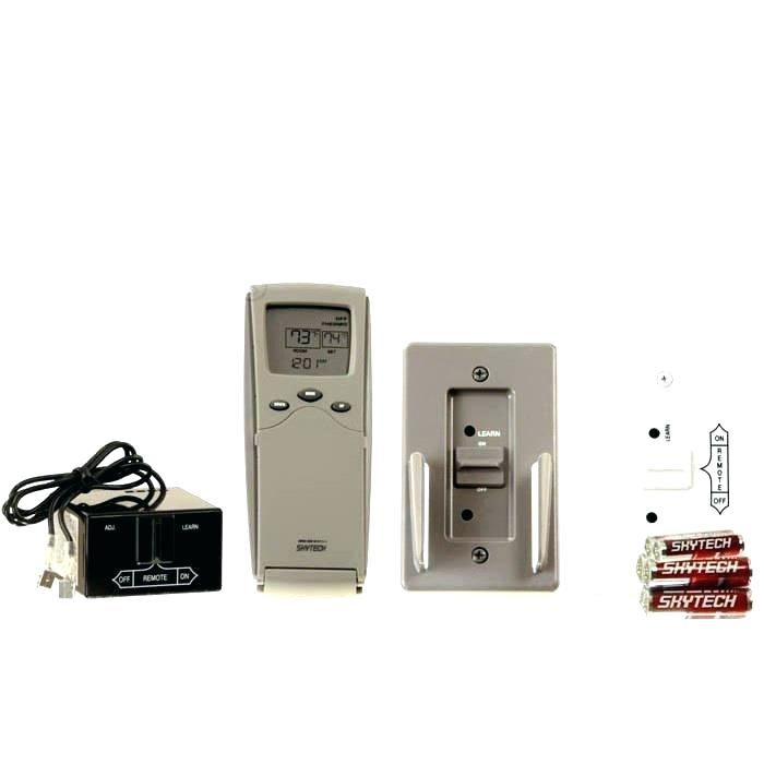 gas fireplace remote controlled valve control kit logs thermostat vent free with