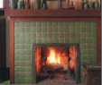 Simple Fireplace Surround Awesome Craftsman Fireplace Tile I Like the Wood Trim Around the