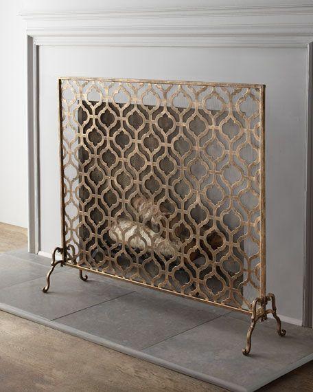 Single Panel Fireplace Screen Best Of Lexington Single Panel Fireplace Screen