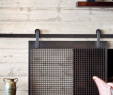 Sliding Fireplace Screen Lovely How to Make A Barn Door Style Fireplace Screen
