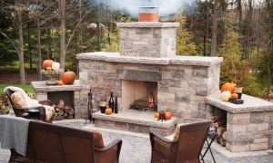 10 Luxury Small Outdoor Fireplace