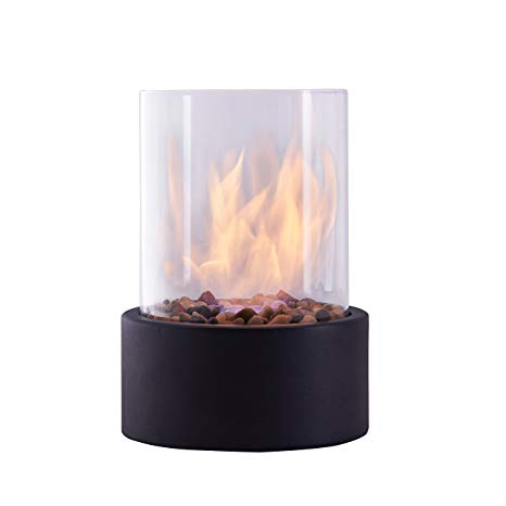 Small Ventless Gas Fireplace Unique Danya B Indoor Outdoor Portable Tabletop Fire Pit – Clean Burning Bio Ethanol Ventless Fireplace Small