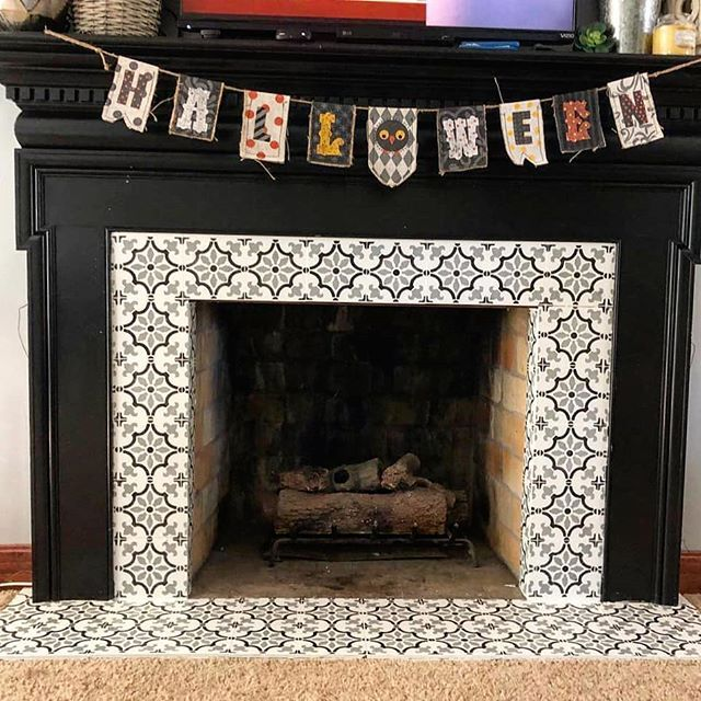 Spanish Tile Fireplace Inspirational Pin On Home Decor