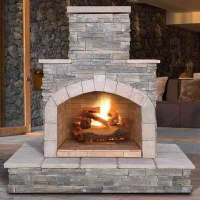 Stacked Stone Outdoor Fireplace Beautiful Awesome Chimney Outdoor Fireplace You Might Like