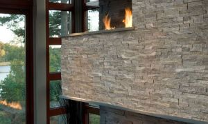 29 Lovely Stacked Stone Veneer Fireplace