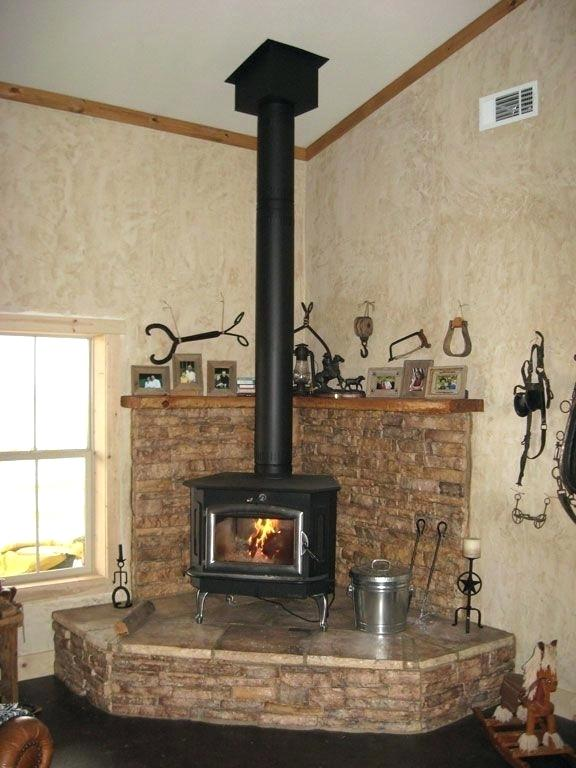 corner wood stove keeping warm stove od stove hearth corner
