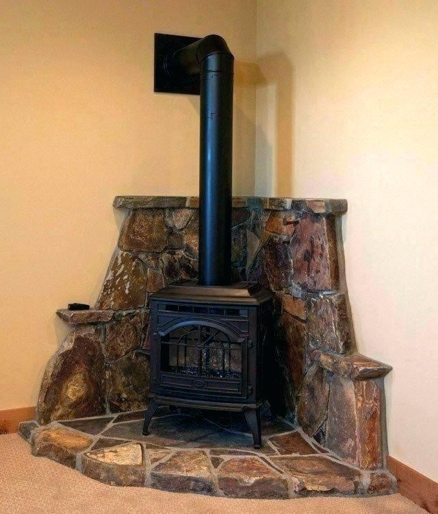 corner wood burning fireplace ideas stove design l inset pictures
