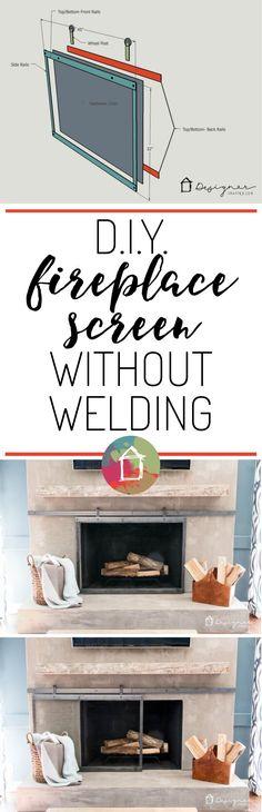 b75e1db998a044a0338a ac8afc2 barn door fireplace screen fireplace screens