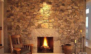 12 Unique Stone Fireplace Design