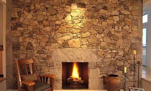 20 Awesome Stone Fireplace Designs