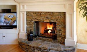 19 Fresh Stone Fireplace Surround Ideas