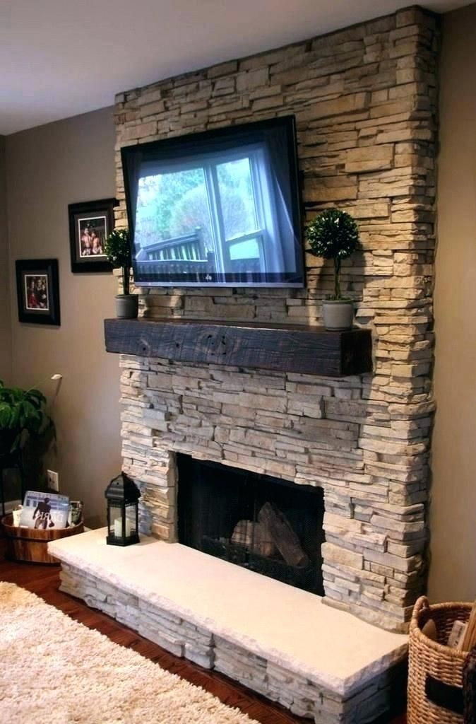 Stone Fireplace with Tv New Pin On Fireplaces