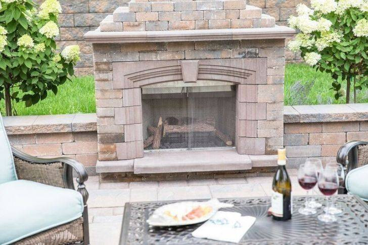 Stone Patio Fireplace Fresh Stone Patio Fireplace Awesome Exterior Fireplace Unique