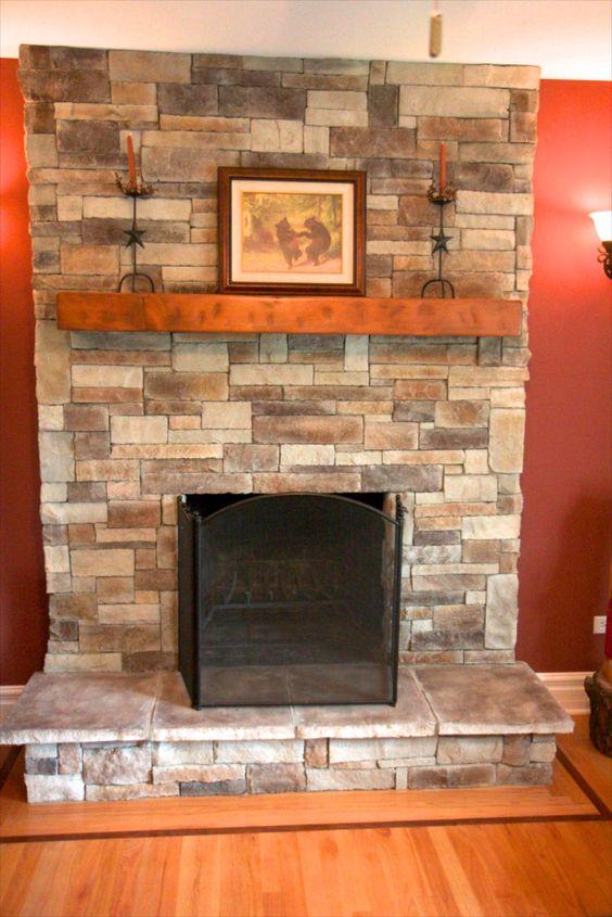 1565a8791ebd af638d922ea4fa7 stone veneer fireplace brick fireplaces