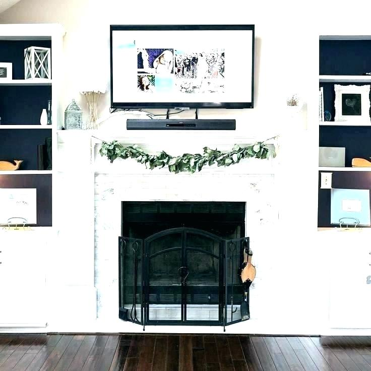cover up fireplace ideas how to a with drywall best screens imag