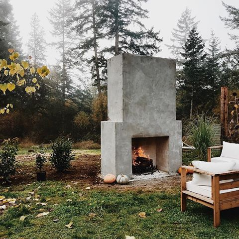 Stucco Outdoor Fireplace Lovely Love This Cement Block Stucco D Fireplace Want One