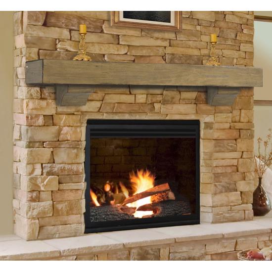 Shenandoah Dune Finish Fireplace rlsu vj
