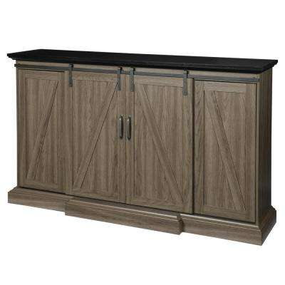 Tall Electric Fireplace Tv Stand Inspirational Chestnut Hill 68 In Tv Stand Electric Fireplace with Sliding Barn Door In ash