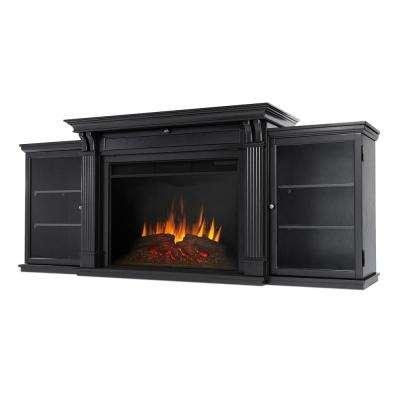 black real flame fireplace tv stands 8720e blk 64 400 pressed